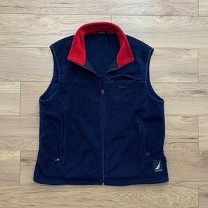 🔹🔺Nautical Full Zip Fleece Vest (Fits M)